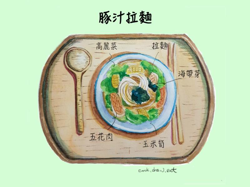 深夜食堂 豚汁拉麵
