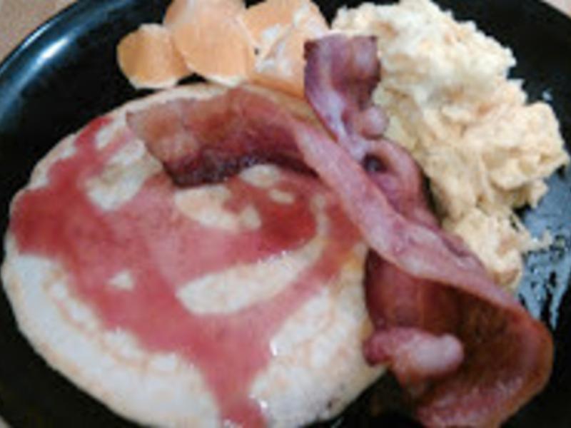 美式煎餅早餐
