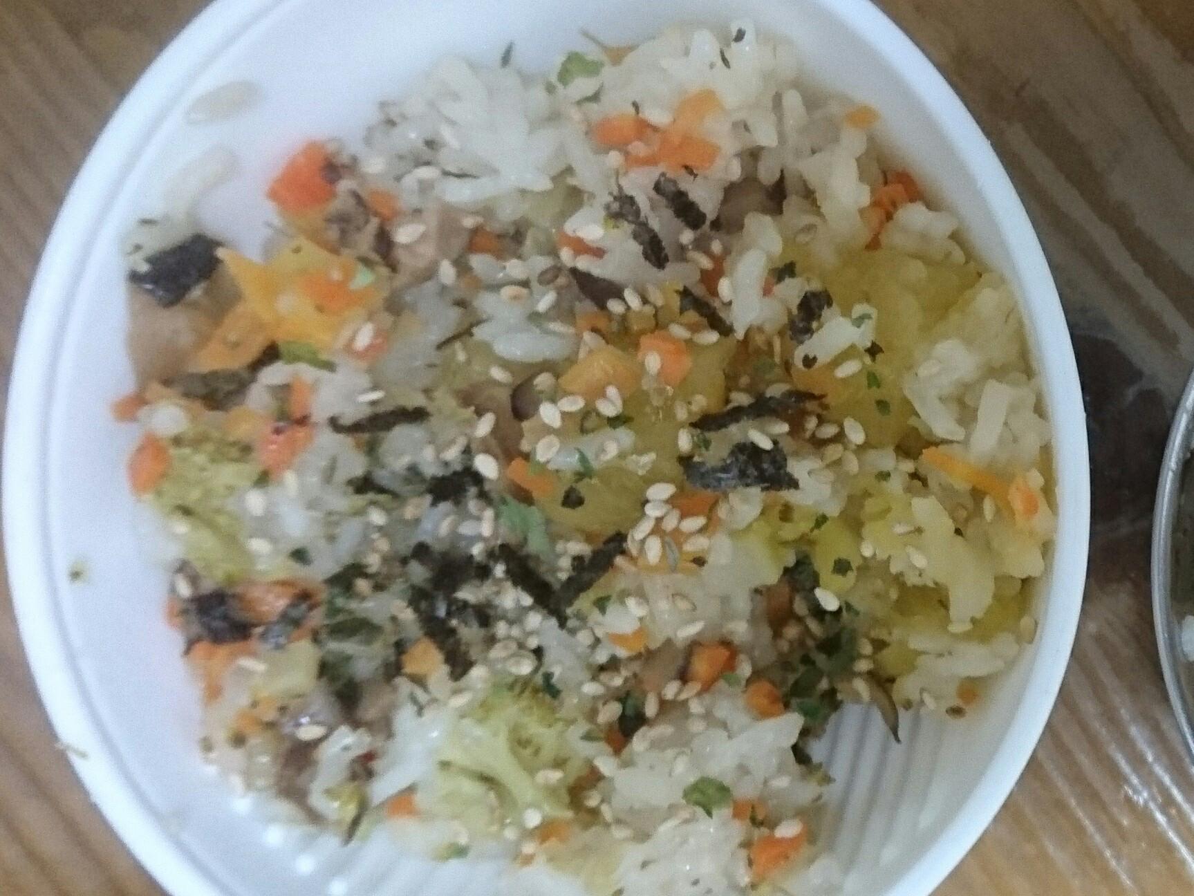 地瓜花菜炊飯