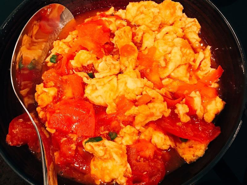 味道升級的番茄炒蛋🍅🍳
