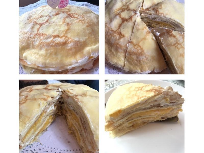 芒果千層蛋糕 免烤生日蛋糕