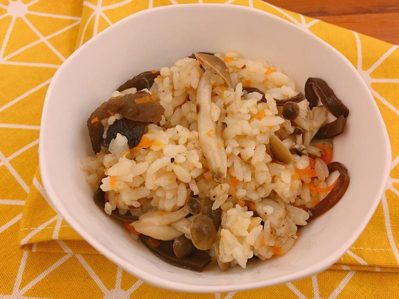 電子鍋版菇菇什錦飯