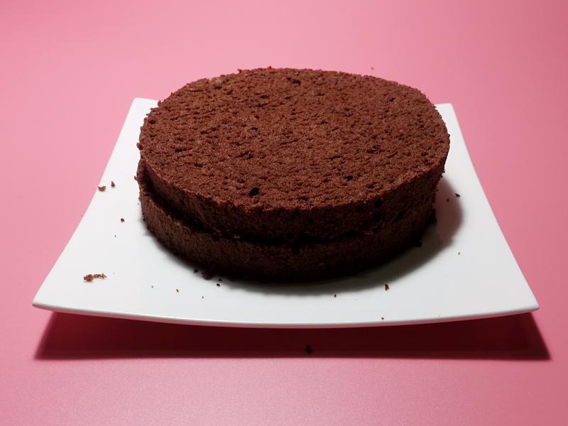 """巧克力海綿蛋糕""""分蛋打法"""""""