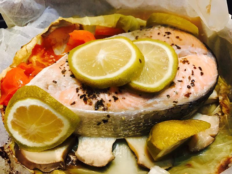 紙包魚(仔細研究調理紙)