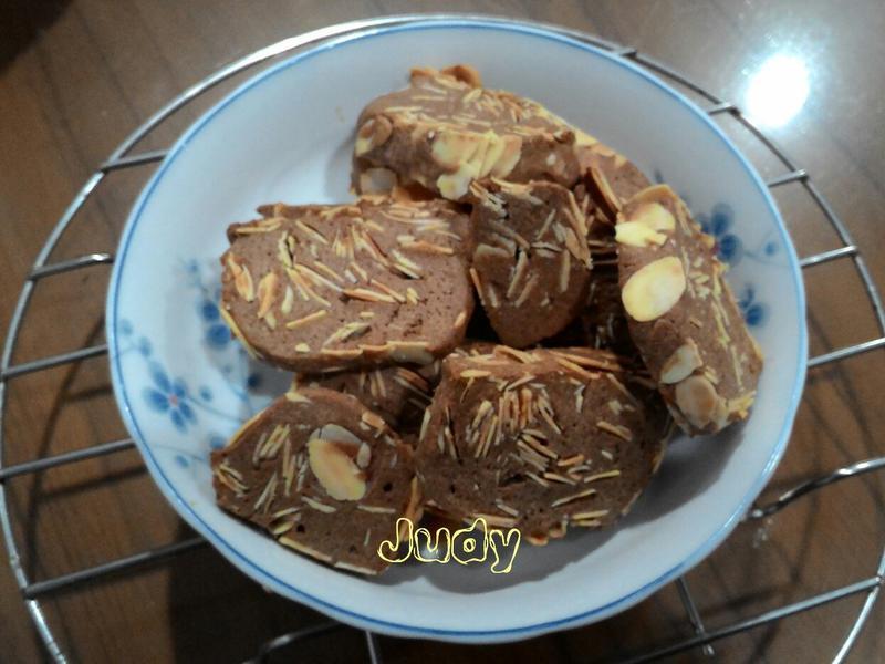 杏仁可可手工餅乾(無可可粉)