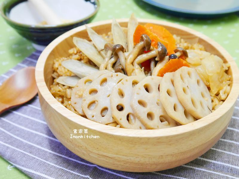 五木蓮藕飯~~養生家常菜