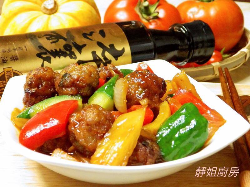 醬燒蔬食肉丸子【淬釀阿嬤的手路菜】