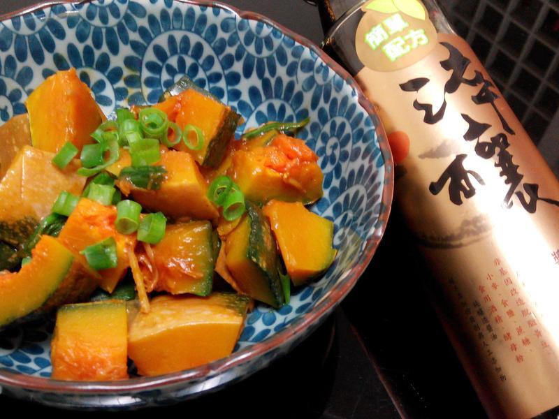 醬燒南瓜【淬釀手路菜】