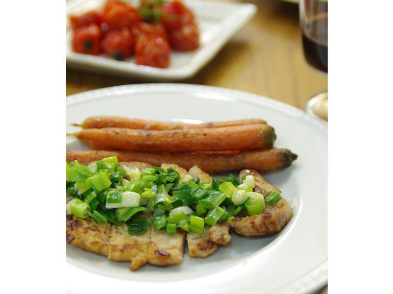 饗瘦美味-鹽麴蔥燒豬里肌