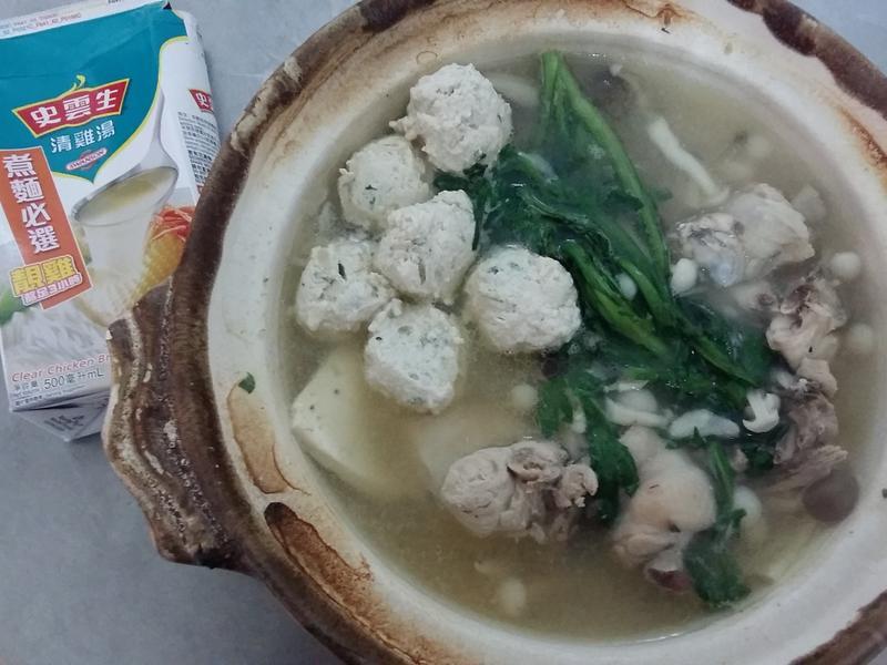 【史雲生雞湯】雞肉火鍋