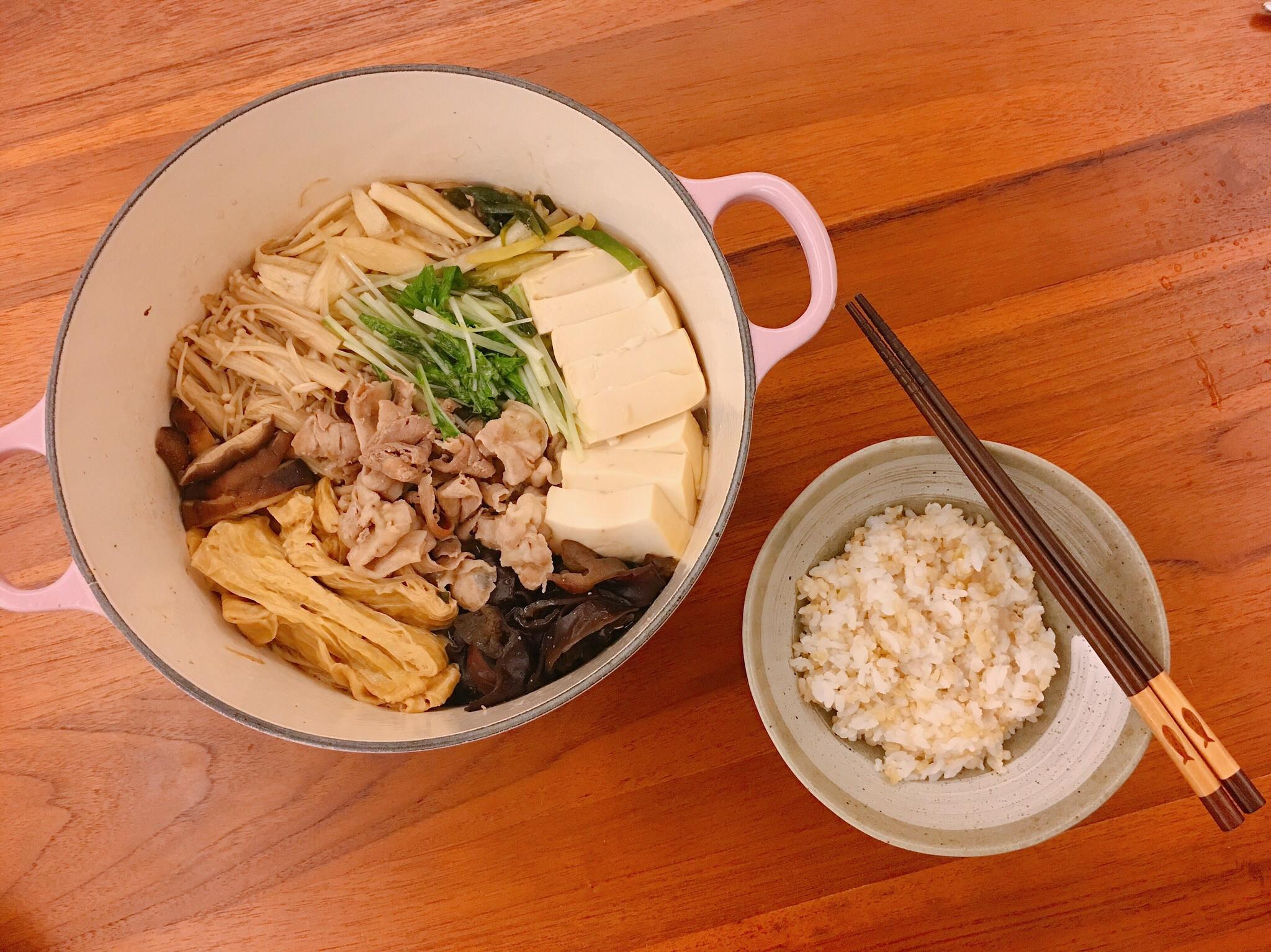 LC鍋料理~鹹甜好滋味超下飯的壽喜燒