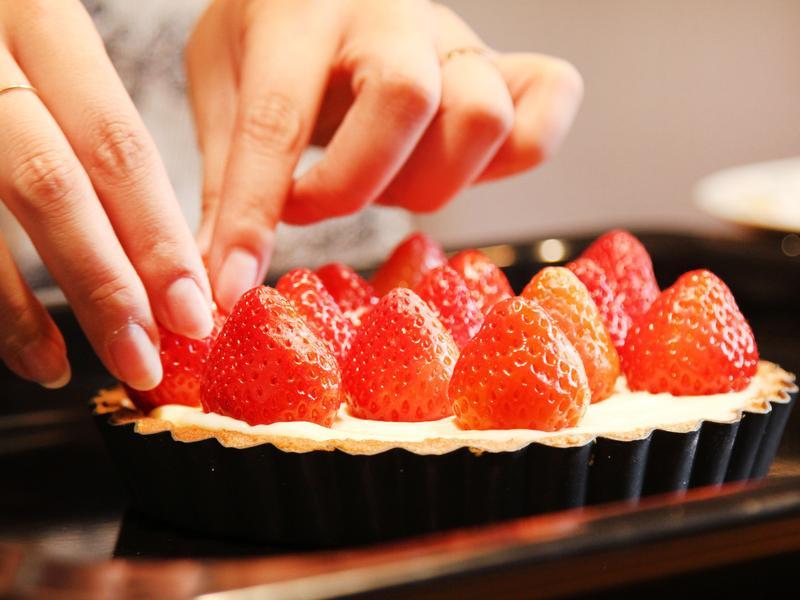 草莓塔草莓塔&檸檬起司蛋糕