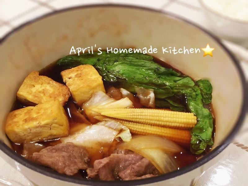 暖心料理 牛肉壽喜燒