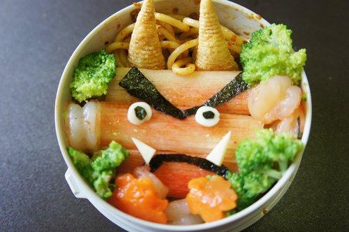 [ 親子食堂 ] 妖怪主題義大利麵