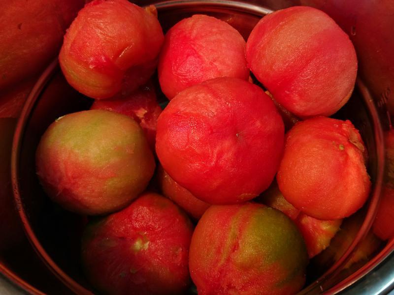 蕃茄冷凍去皮妙方