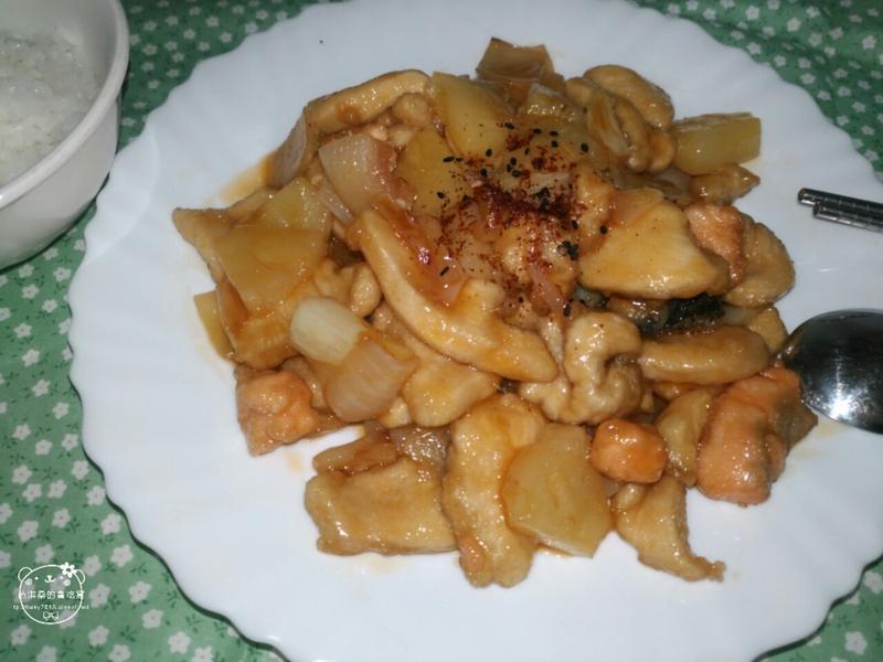 清爽的鳳梨糖醋雞丁(片)