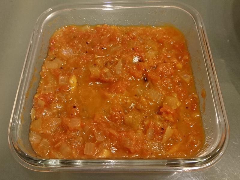 義式蕃茄醬 (冷凍去皮蕃茄快速料理)