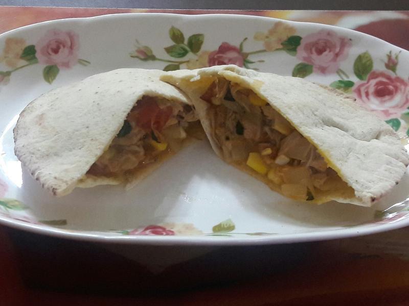 洋蔥鮪魚PITA餅