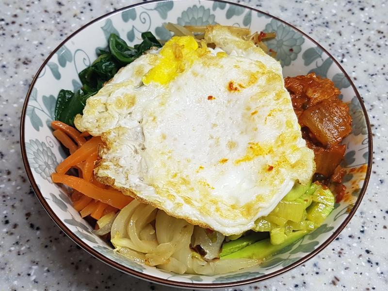 (韓式)拌飯 비빔밥
