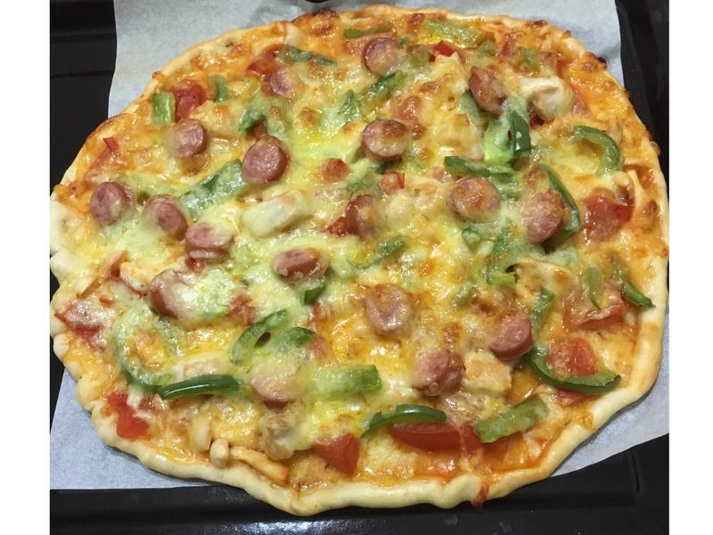 免油手工薄披薩