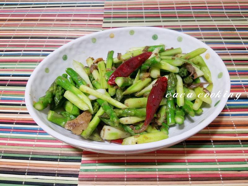 XO醬炒綠蘆筍