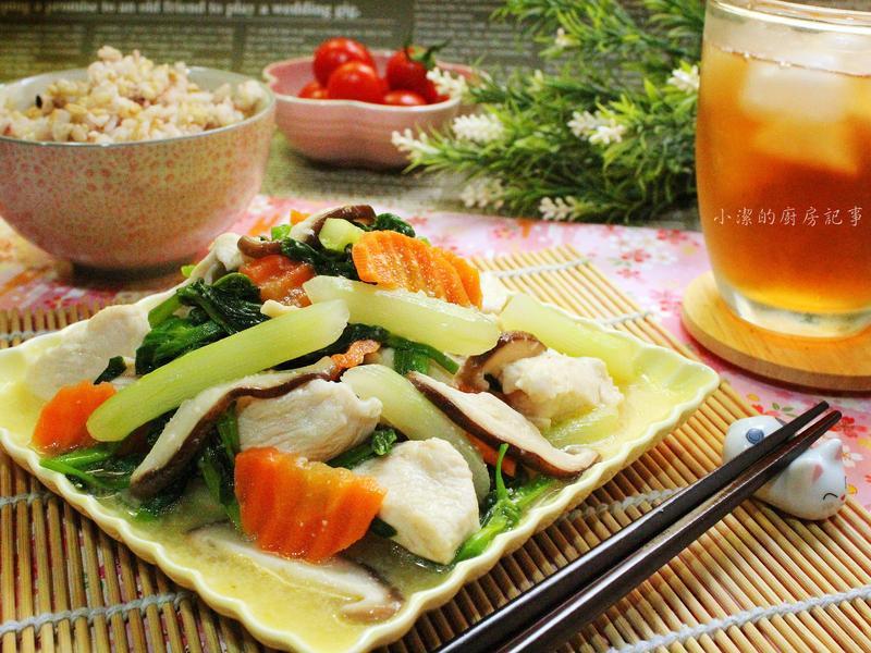 鮮蔬炒雞柳(15分鐘快速料理)