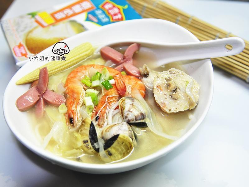 海鮮煨麵(史雲生雞湯)