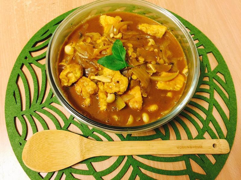 印度咖喱:Sambar