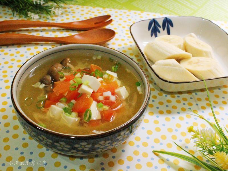 番茄豆腐味噌湯