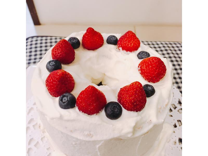 生日蛋糕自己做!草莓鮮奶油戚風蛋糕
