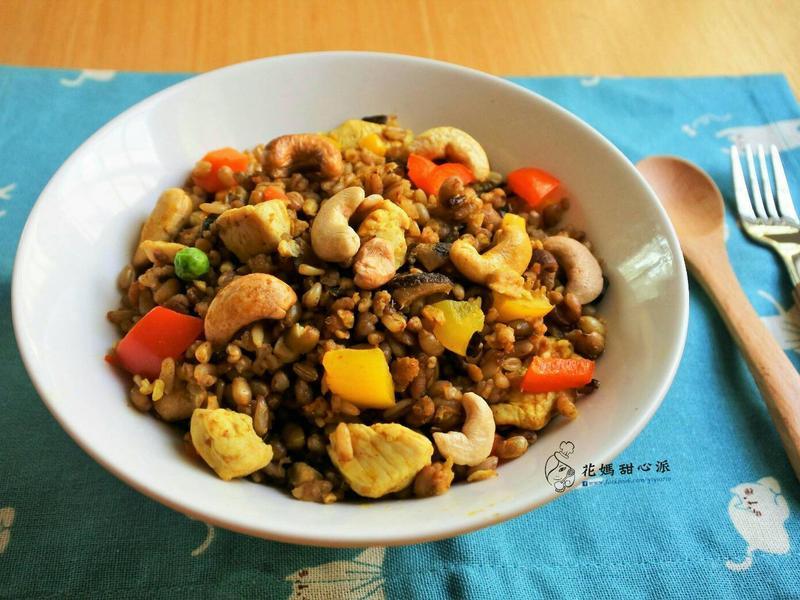 十穀咖哩飯(15分鐘快速料理)