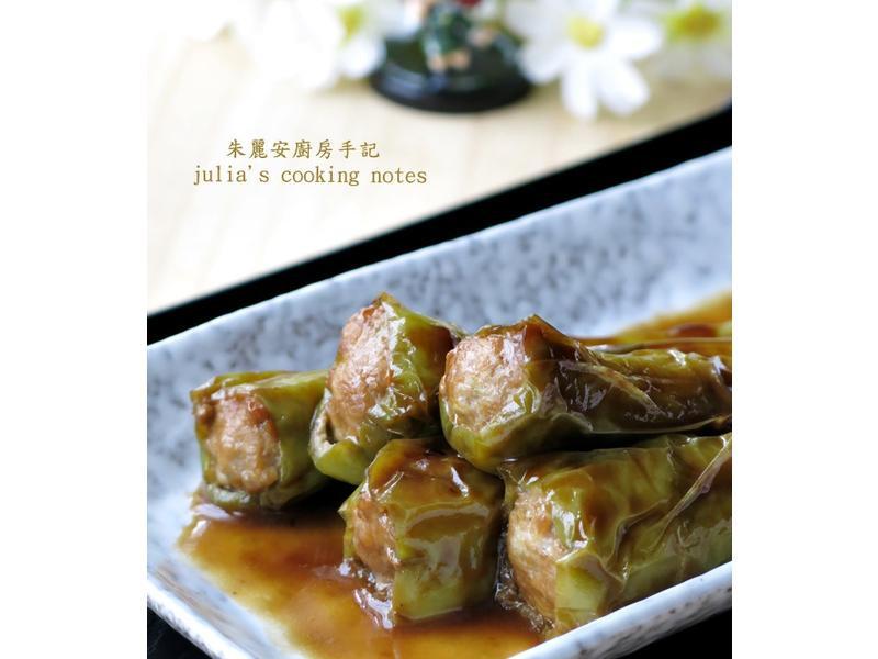 [青椒鑲肉]下飯家常菜