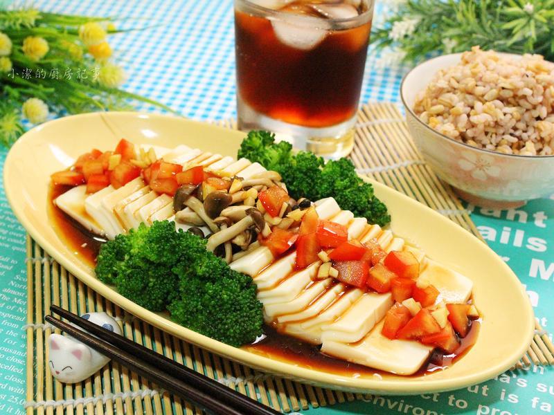 菇菇涼拌豆腐