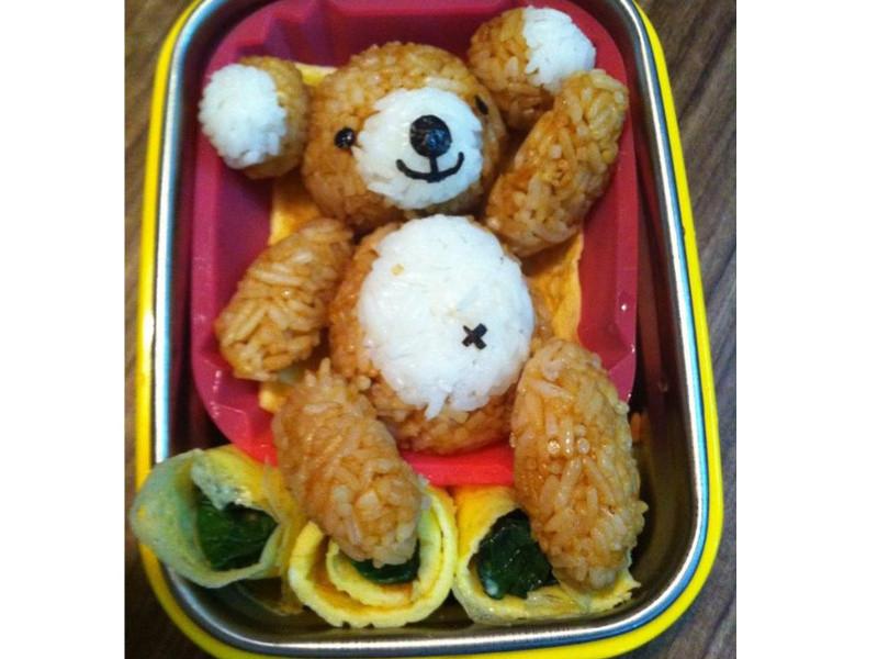 【親子食堂】小熊爱心便当