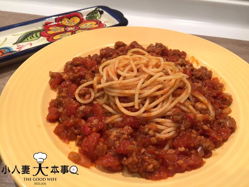 史上最好吃的番茄肉醬(可配麵或飯)
