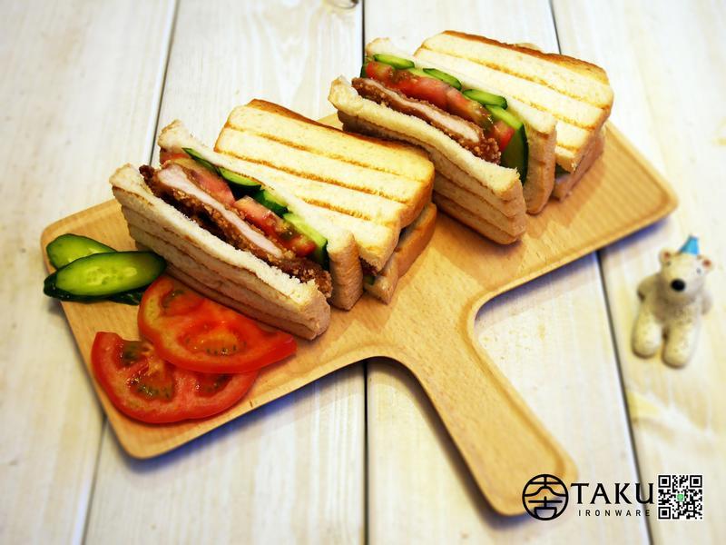古早味肉排三明治