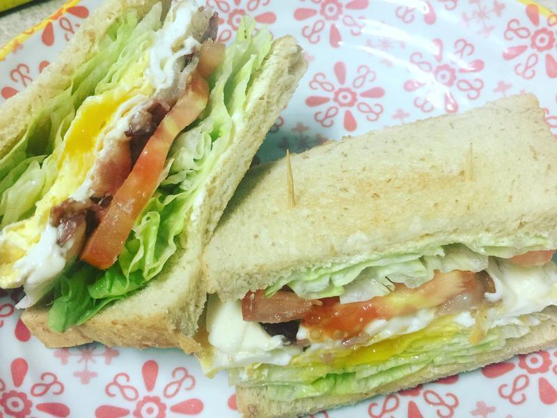 培根起司三明治
