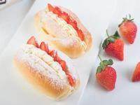 【麥典實作工坊】草莓奶露麵包