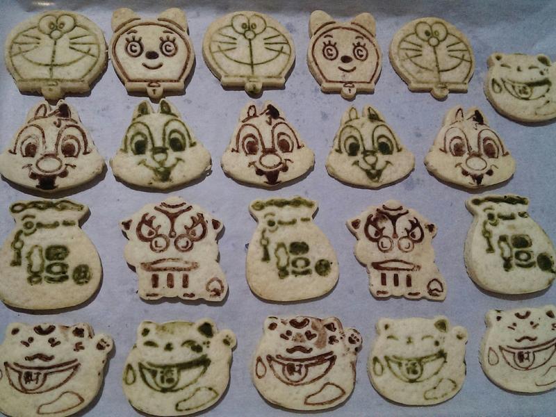 簡單造型餅乾