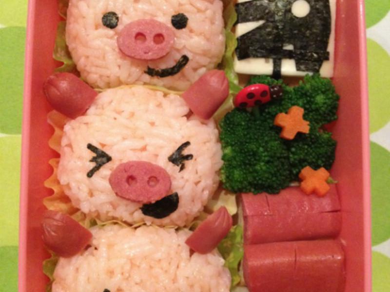 【亲子食堂】三只小猪