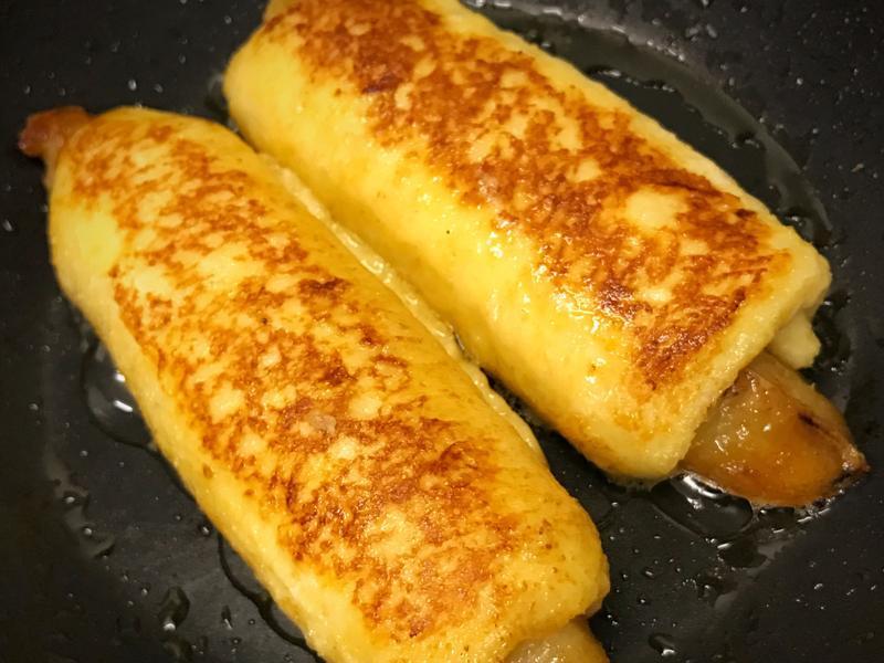 香蕉法式吐司