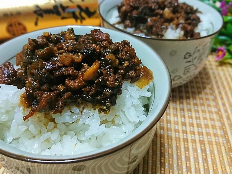 梅干肉燥飯【淬釀手路菜】