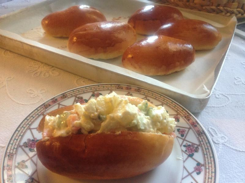 麵包16---馬鈴薯沙拉麵包