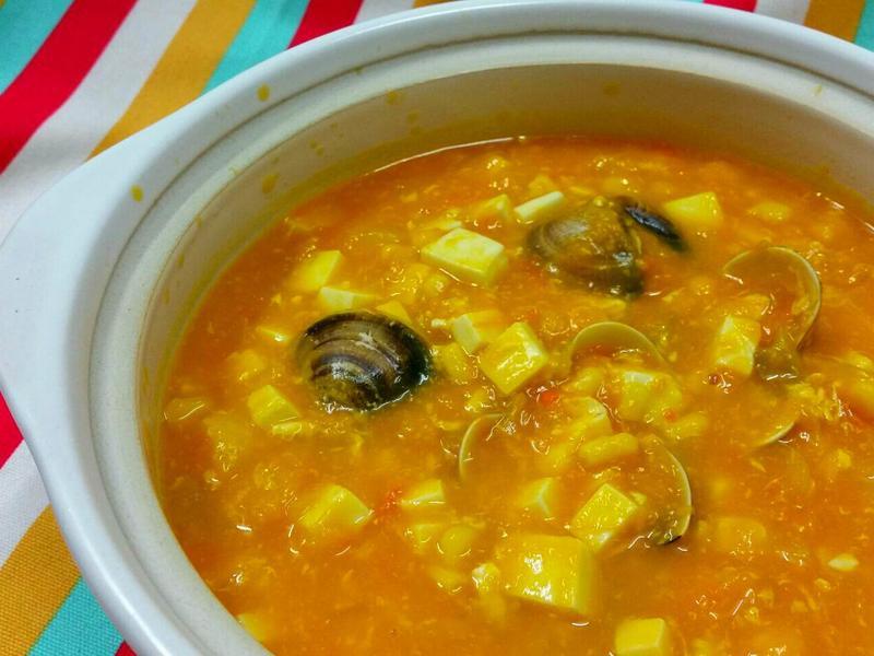 南瓜蛤蜊濃湯