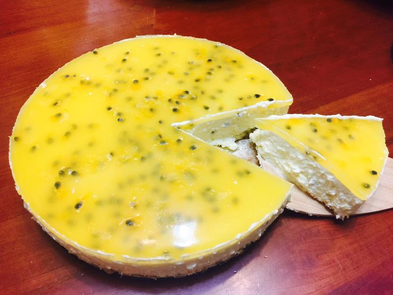 免烤:雙層百香果起司蛋糕