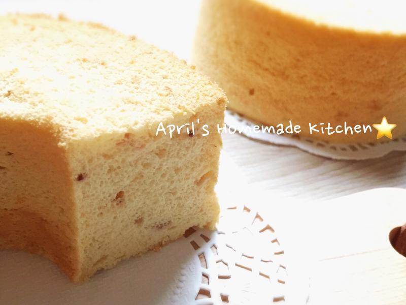 草莓優格戚風蛋糕 (減油減糖)