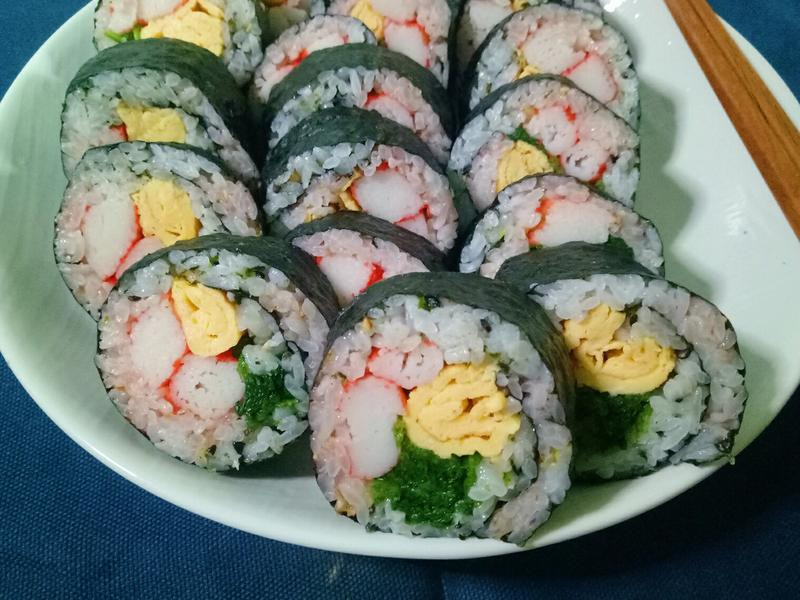 雙色壽司卷