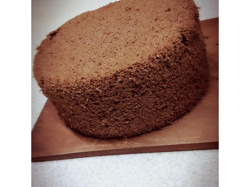 優格可可戚風蛋糕