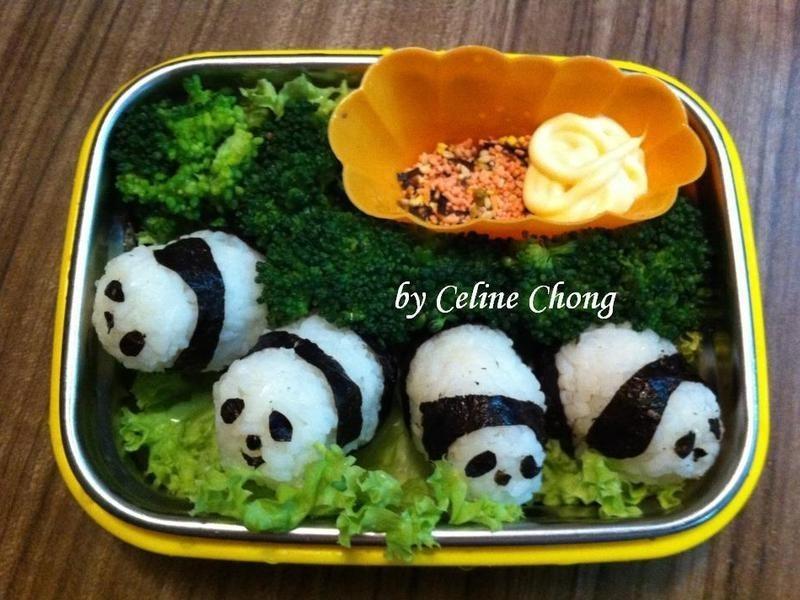 【親子食堂】 熊猫爱心饭盒