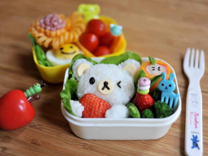【親子食堂】熊熊♪Love strawberry♪